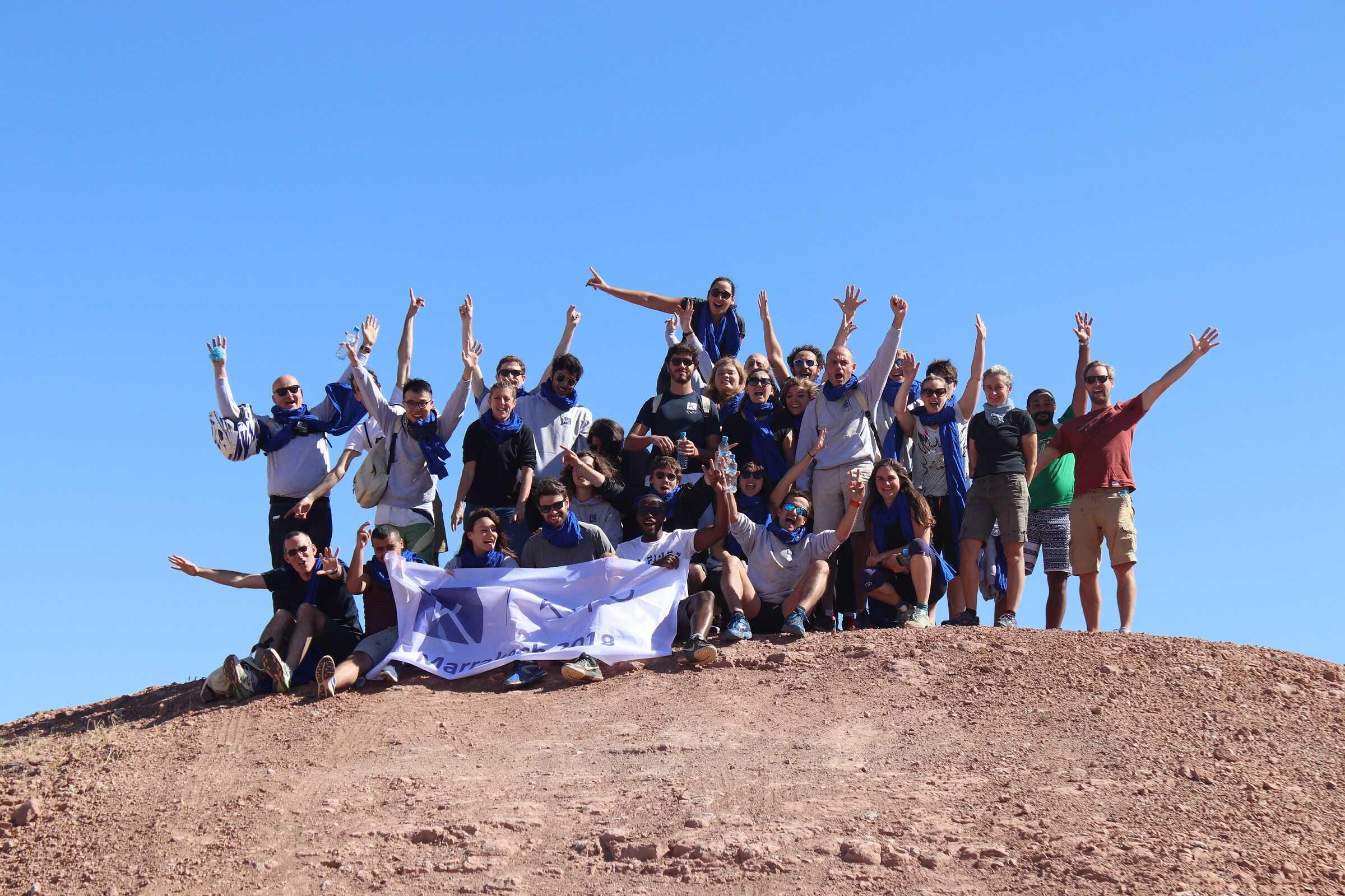 Une escale à Marrakech pour toute notre équipe !