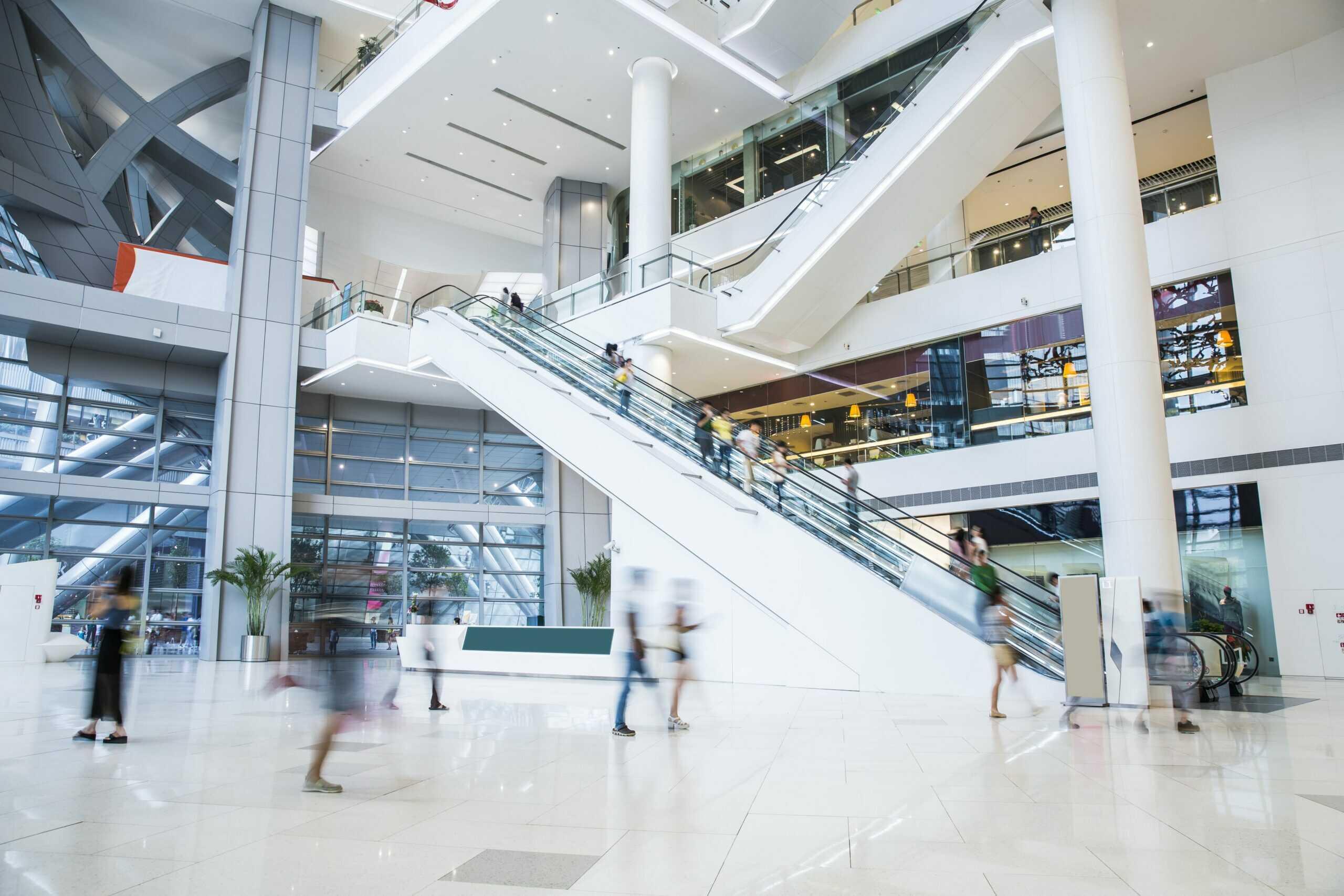 istock commerce hall blanc