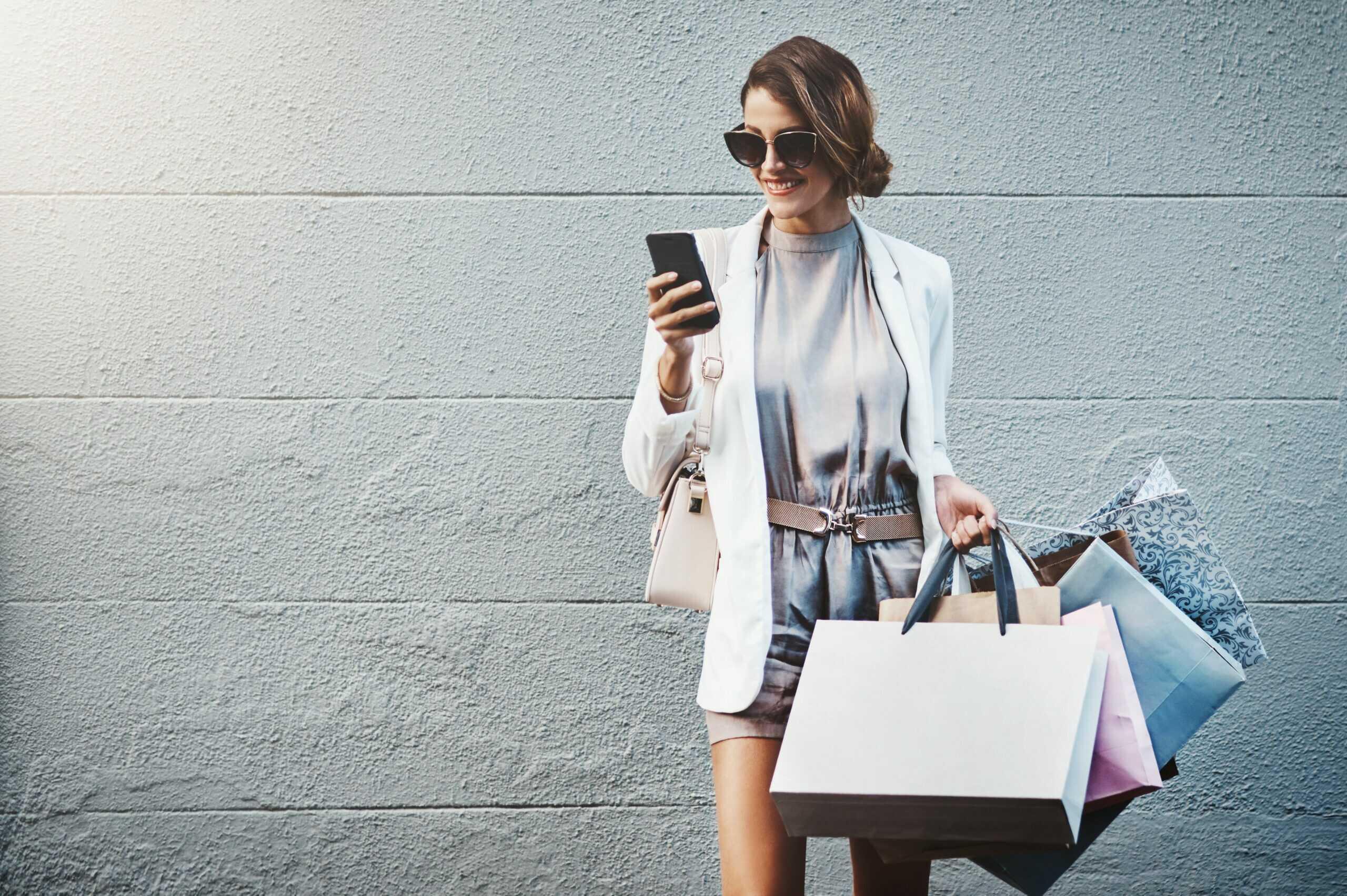 istock shopping femme