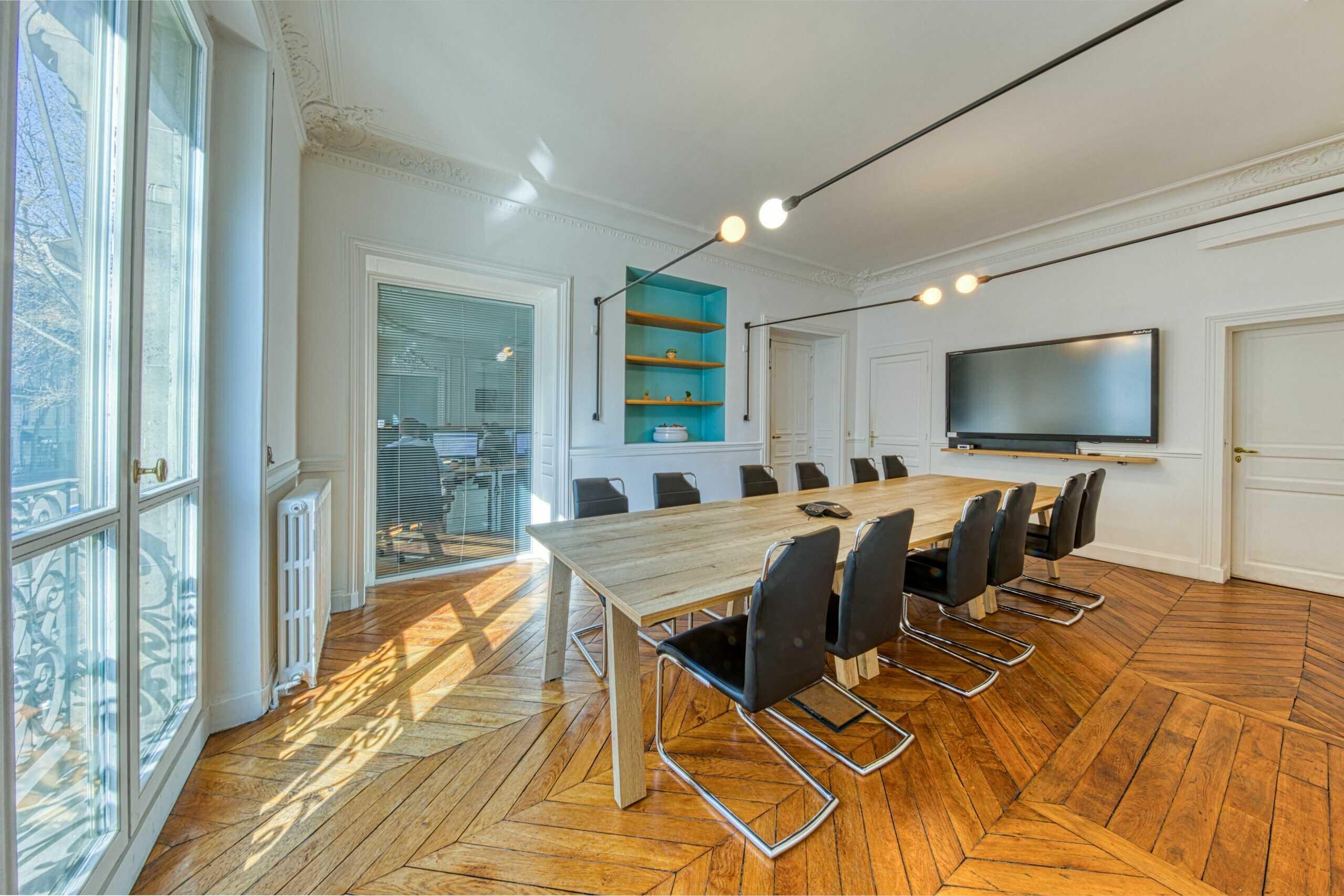 Bureaux Kyu - salle de réunion